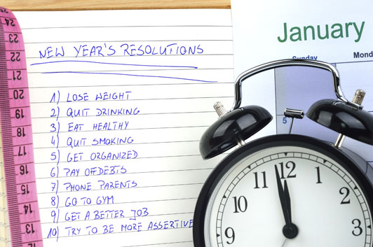 6 Innovative Tips for Keeping New Years Resolutions