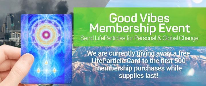 Free LifeParticle Card with Premium Membership