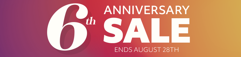 Anniversary Shop Sale