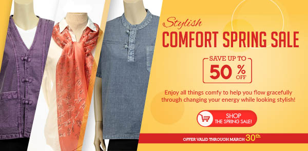 Stylish Comfort Spring Sale