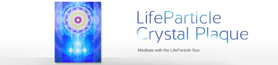 LifeParticle Crystal Plaque