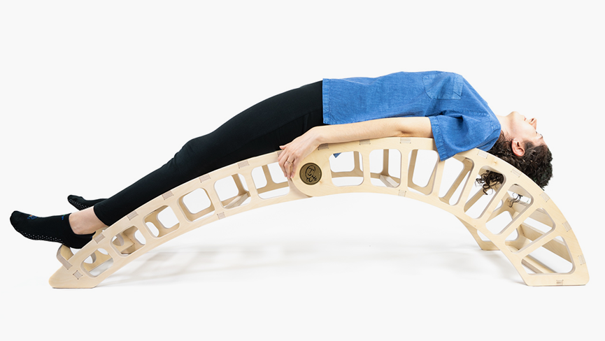 Say Good-bye to Back Pain with This Backbending Bench