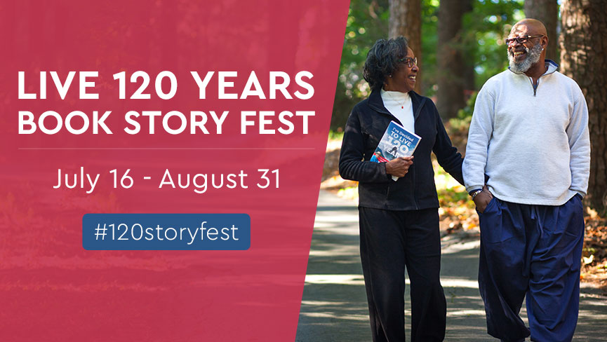 Enter the Live 120 Years Book Story Fest Contest