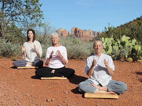 energy meditation in Sedona