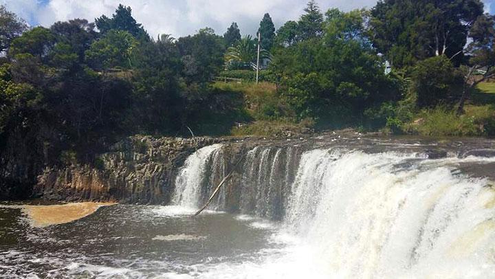 Wisdom from Haruru Falls