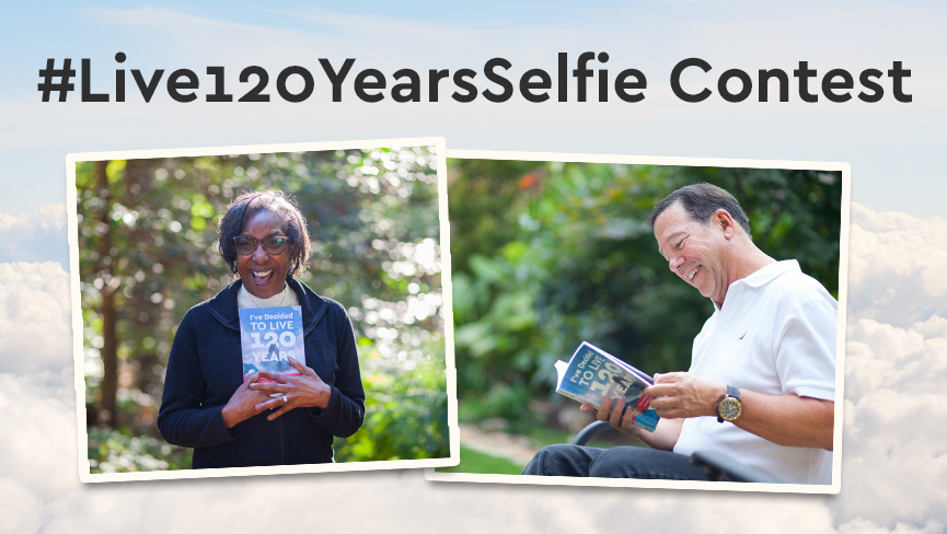 Win Our Online Course in the Live120YearsSelfie Contest