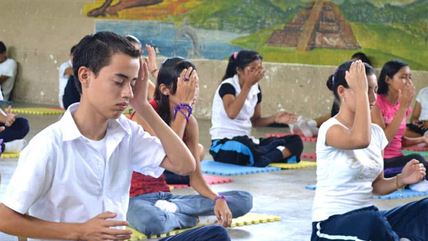 Ilchi Lee's Brain Education Brings Peace to Public Schools in El Salvador