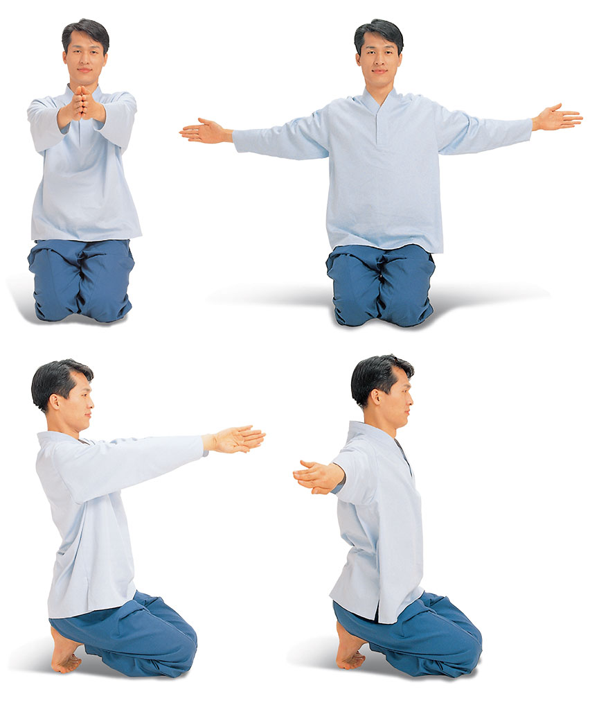chest expansion meridian exercise