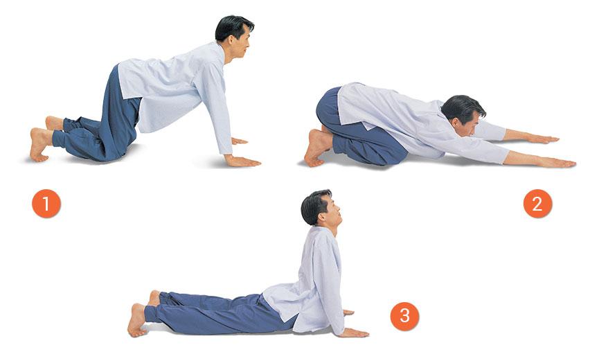 shoulder stretch meridian exercise