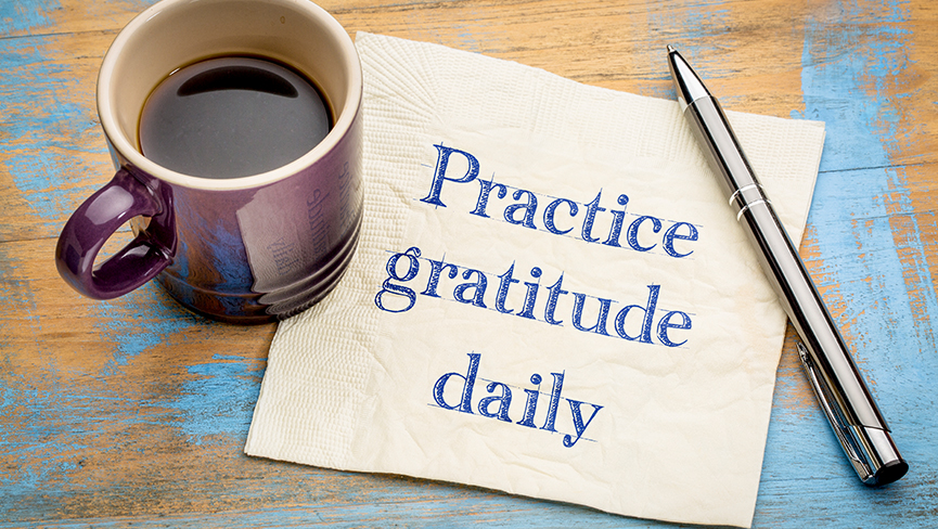 5 Unique Ways to Practice Gratitude