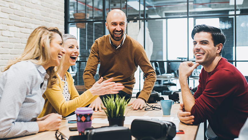 Five Ways to Create a Happy Workplace and Boost Employee Engagement