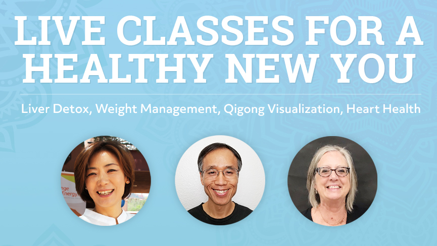 Change Your Energy is Offering Special Live Classes this January 2019!