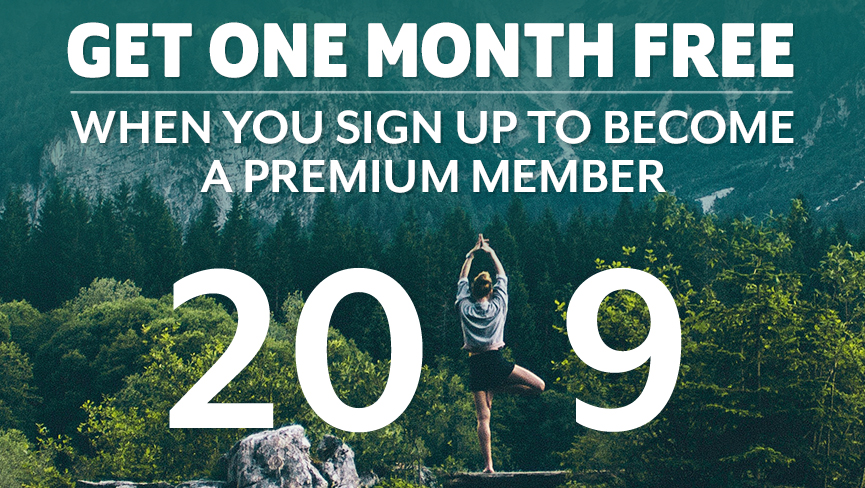 JANUARY SPECIAL: Get 1 Month FREE if You Buy Any Premium Membership