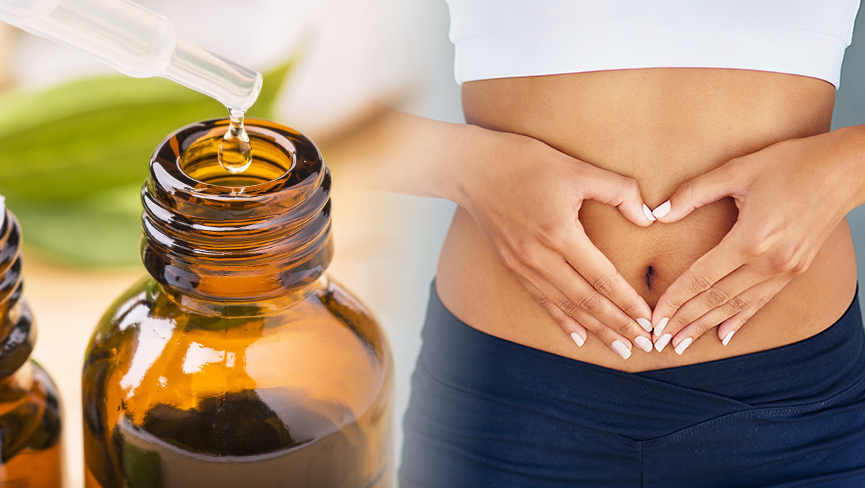 Belly Button Healing and Oil Massage for Relaxation and Stress Relief