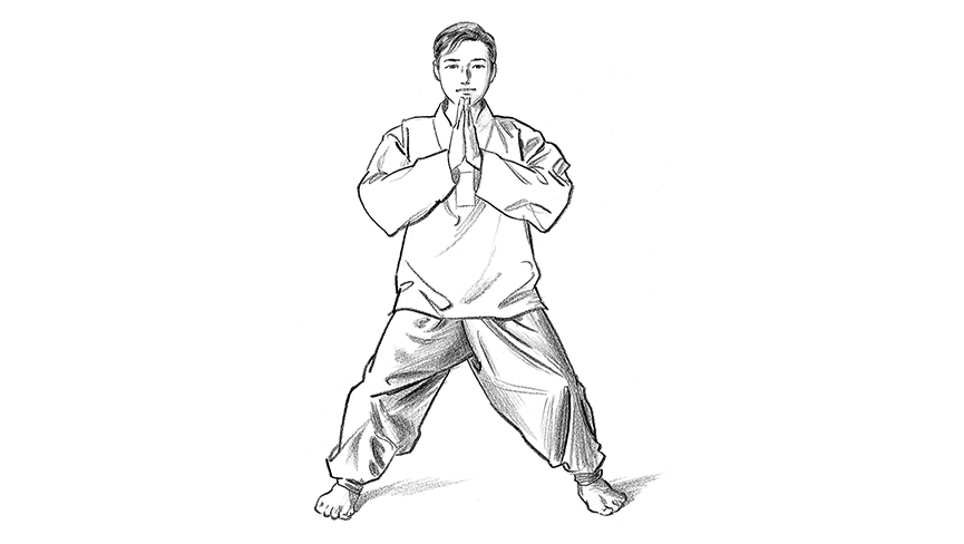 Qigong Exercise: One Heaven Pose