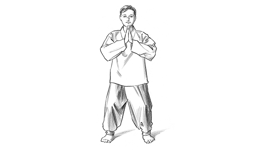 Qigong Exercise: One Origin Pose