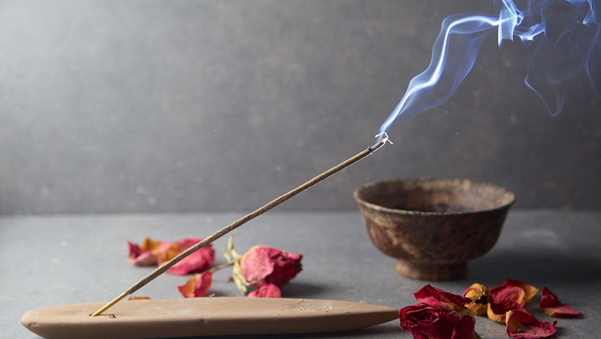 Create a Sacred Space with Hwangchil & Burning Incense