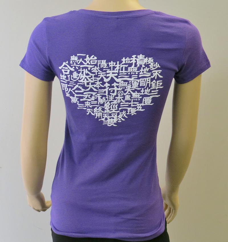 Love CBK VNeck TShirt Violet