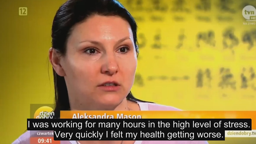 Couple Teaches Belly Button Healing for Stress Management | Polish TV