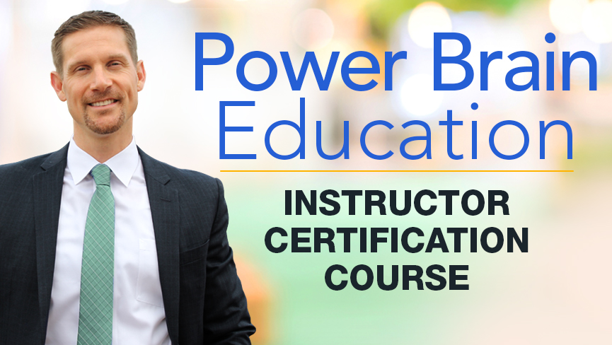 Power Brain Education Instructor Certification Course with Dave Beal