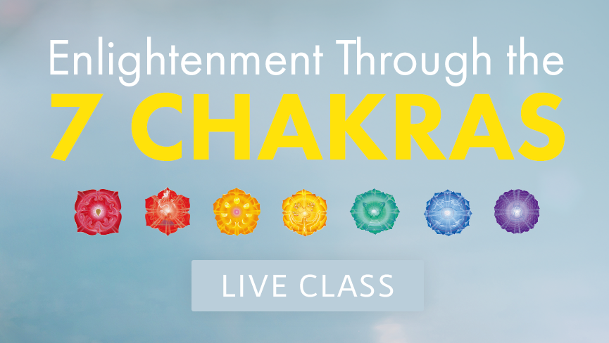 Enlightenment Through the 7 Chakras
