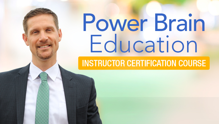 Power Brain Education Instructor Certification Course