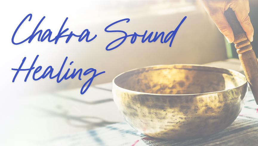Chakra Sound Healing Live Webinar