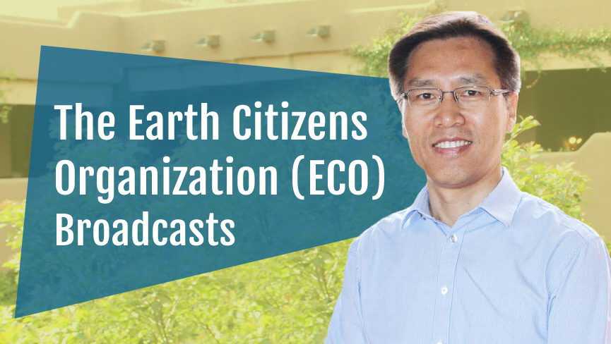 The Earth Citizens Organization (ECO) Broadcasts