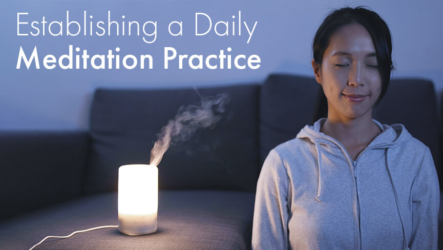Establishing a Daily Meditation Practice with Jiyoung Oh
