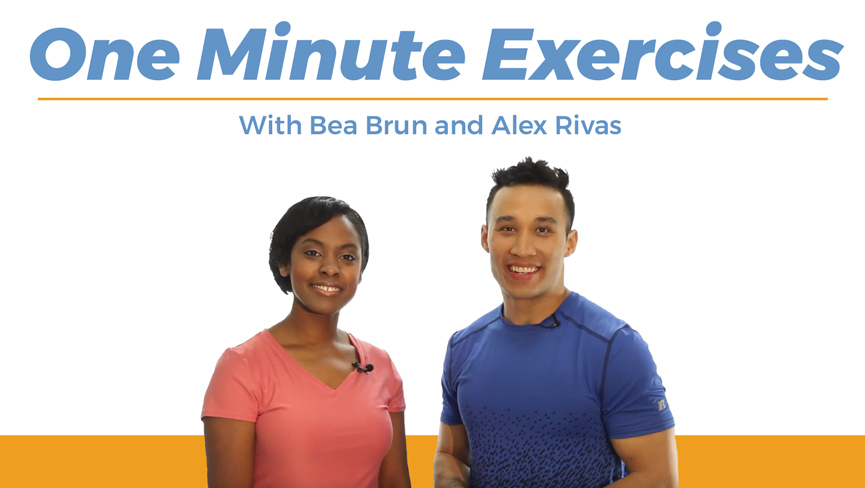 One Minute Exercises with Bea Brun and Alex Rivas