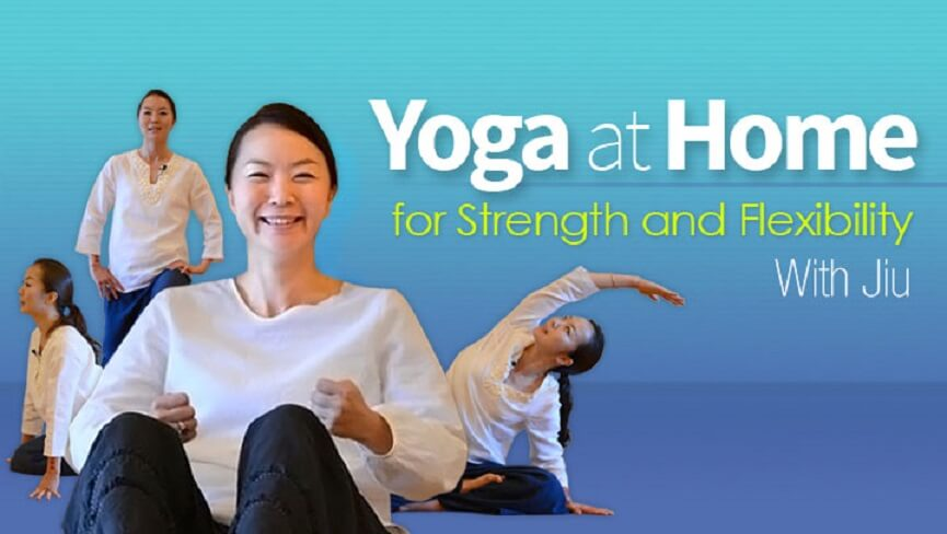 Yoga at Home for Strength and Flexibility