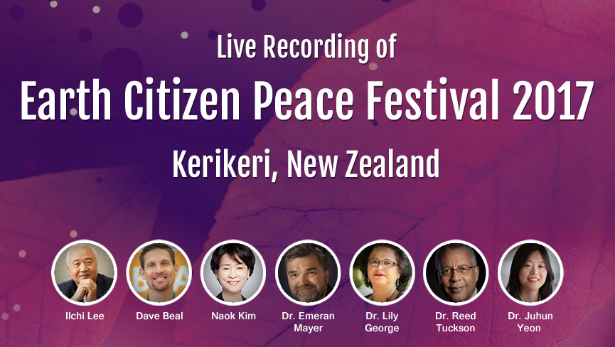 The 1st Annual Earth Citizen Peace Festival, Kerikeri, New Zealand   with Ilchi Lee, Dave Beal