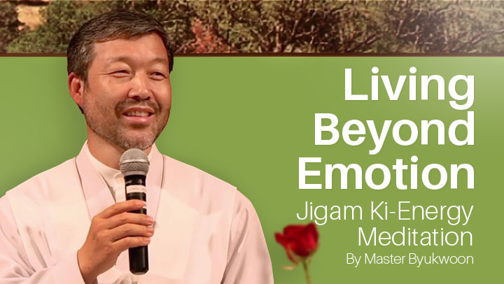 Living Beyond Emotion: Jigam Ki Energy Meditation  with Byukwoon