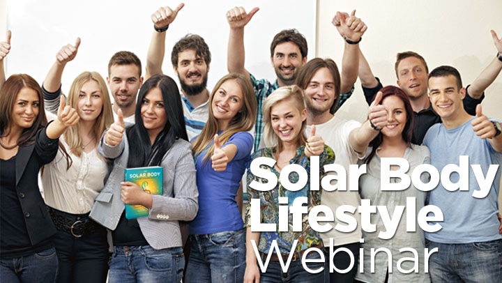 Solar Body Lifestyle Webinar October 13