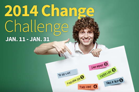 Resolution to Change Challenge Kicks Off Jan 11