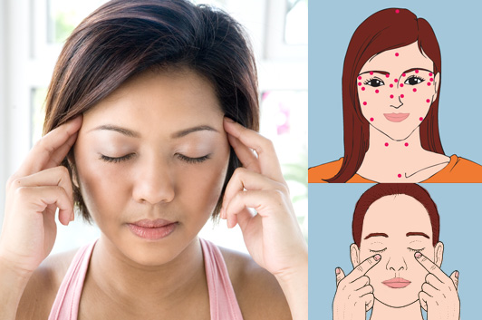 5 Minute Acupressure Facial to Look Feel Better