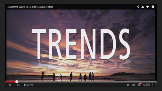 TRENDS Product Information Videos Enhance CYE Members Shopping Experience