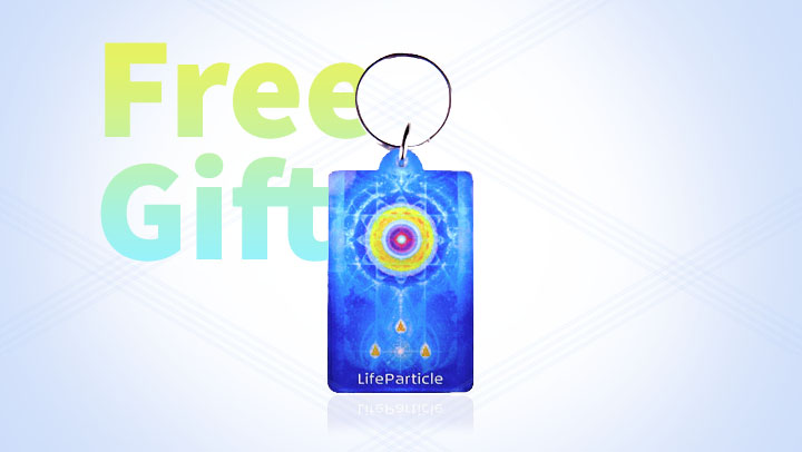 Get a FREE LifeParticle Keychain When You Spend 100 or More