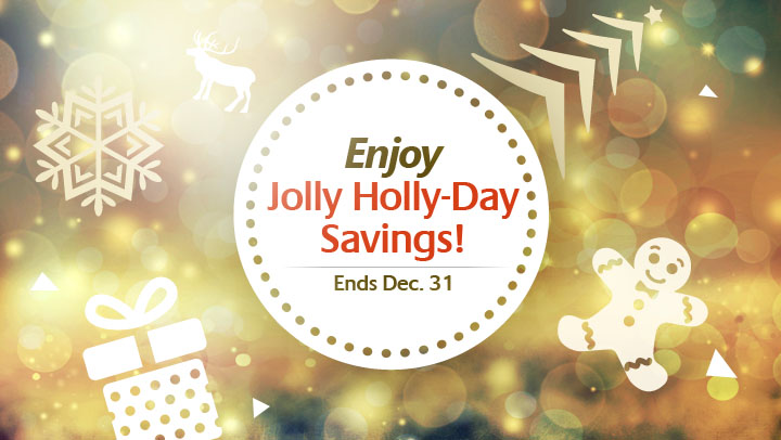 Enjoy HollyDay Savings in December