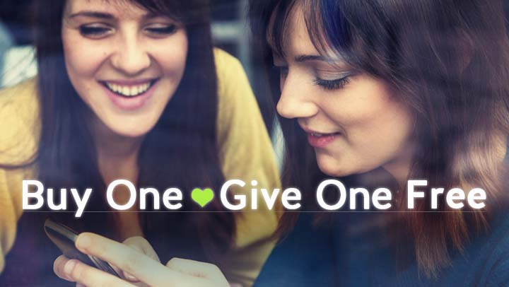 Now Share the Energy Love with Buy 1 Give 1 Membership