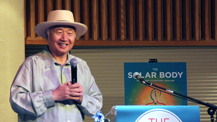 Solar Body Lecture by New York Times Bestselling Author Ilchi Lee Warms the Hearts of Many