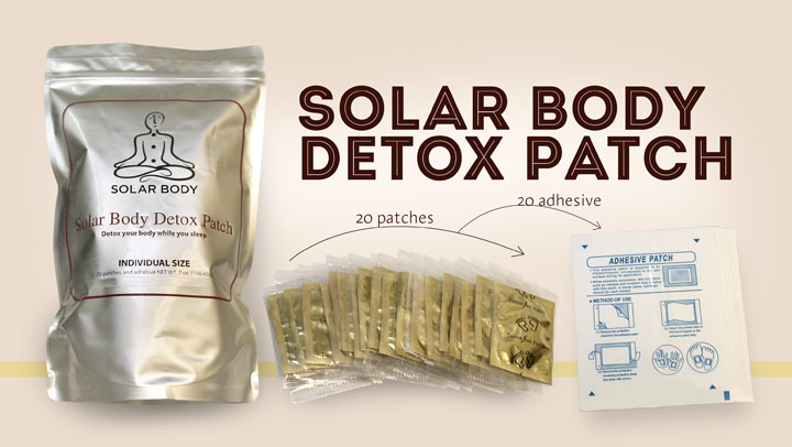 How to Use Solar Body Herbal Patches for Natural Detox