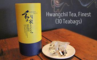 Hwangchil tea, tea bags
