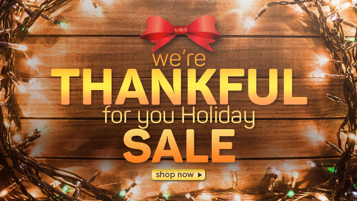 Thankful for YOU Holiday Sale Starts November 23