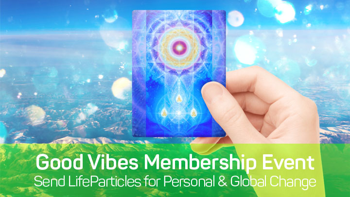 Free LifeParticle Card with First 500 Premium Membership Purchases