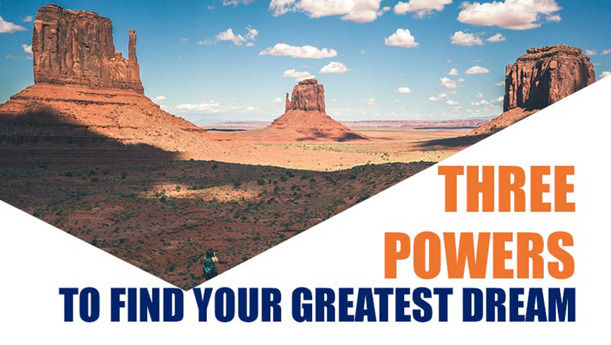 Sedona Retreat: Three Powers to Find Your Greatest Dream August 21-23
