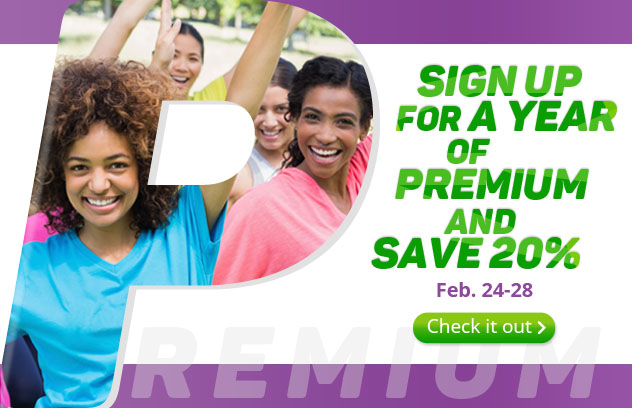Sign Up for a Year Membership and Save 20