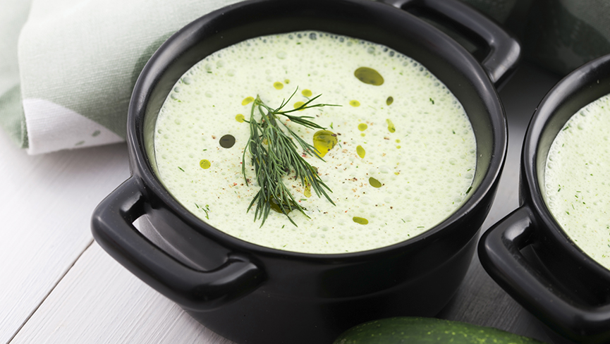 Immune Boosting Cold Garlic Soup Recipe Perfect for Summer