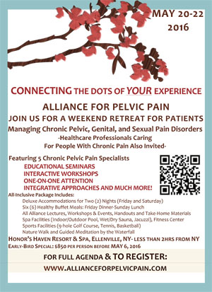 Alliance for Pelvic Pain Retreat (Updated)