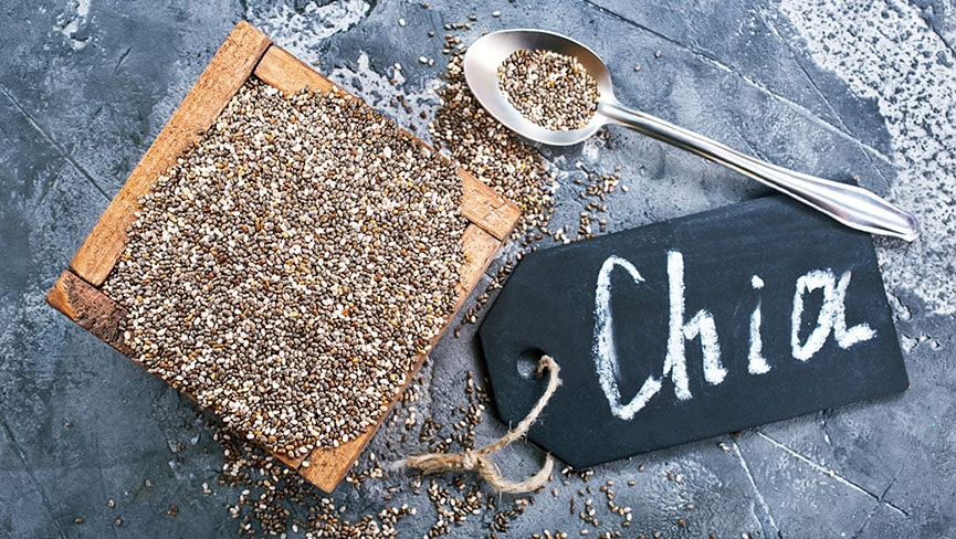 Digestive Health: 7 Foods for Healthy Digestion - Chia Seed